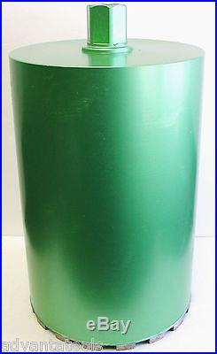 12 (Actual OD 11-5/8) Wet Diamond Core Drill Bit for Concrete Premium Green