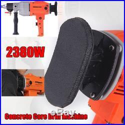 190mm 2380W Diamond Core Drill Wet/Dry Handheld Concrete Core Drill Machine 220V