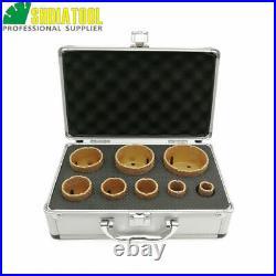 1set/8pcs Diamond Drill Core Bits M14 Drilling Hole Saw for Ceramic Tile