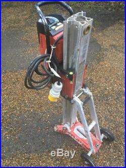 2015 Hilti DD 350-ca 110v Heavy Duty Diamond Core Tool Drill With Rig Stand