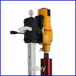 205mm Diamond Core Drill Concrete Drill Machine And Stand & Drill Bits 3980W