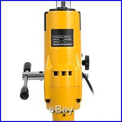 205mm Diamond Core Drill Concrete Drilling Machine With Stand Press Drilling 3980W