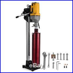 220V 6Inch Diamond Core Drill Concrete Core Machine With Stand Bits Tool Driller