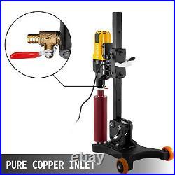 4800W Diamond Concrete Core Drill Machine 305mm Stand Press Drilling & Wheels