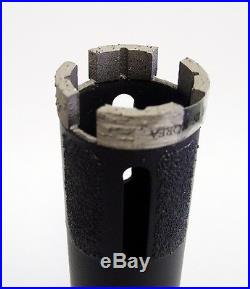4PK 1-3/8 SUPREME Laser Welded Dry Diamond Core Drill Bit Granite Marble Stone
