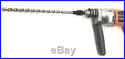 4-1/2 Dry Diamond Core Drill Bit for Brick Block w Pilot Bit 1/2 Chuck Arbor