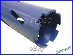 5pc Diamond Core Drill Bit Set Hole Cutter Drills Tool Kit 38-127mm SDS Plus Hex