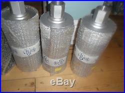 6 X Wet Dry Diamond Core Drill Bits