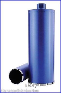 8 Premium Diamond Core Drill Bit Run WET or DRY for Brick Block and Concrete