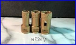 9 pcs/set M14 Diamond Drill Core Bits Hole Saw Drilling Granite Marble Ceramic