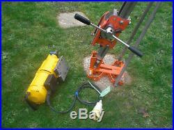ADT Weka DK26 Diamond Core Drill Stand Rig Hilti DD350 Hakken DD200 golz DK16 17