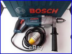 Bosch GSB 162-2RE 110v 1500W Diamond Core / Impact Drill Inc Case