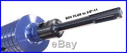 COMBO 2.5 & 3.5 Dry Diamond Core Drill Bit for Masonry with SDS Plus Adapter