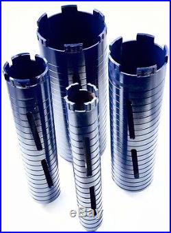 COMBO PK 2, 3, 4, 5 Premium Dry Diamond Core Drill Bit for Concrete Masonry