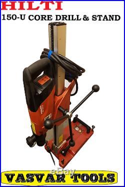 CORE DRILL Hilti DD 150-U 120V Diamond Coring Drill with stand