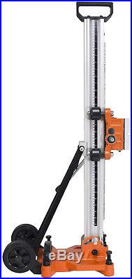 Cayken Aluminum Diamond Core Drill Rig Stand, 4.5 Wheels for Easy Portability