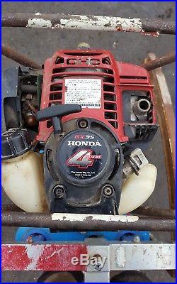 Concrete diamond core drill rig hydrostress drill honda engine