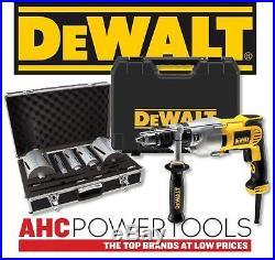 DEWALT D21570K Diamond Core Drill 240v C/W 11pc Diamond Core Set