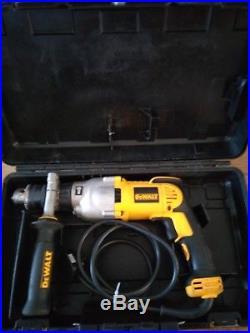 DEWALT D21570 2 Speed 127mm Dry Diamond Core Drill 1300w 240v with case