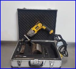 DEWALT D21570lx Dry Diamond Core Drill Rotary Hammer Percussion kit 110v M