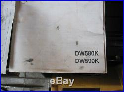 DE-WALT diamond DW580K Two Speed Diamond Core Drill 220v 240v