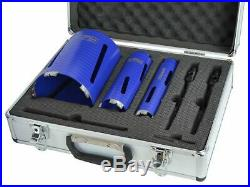 DeWALT D21570K 1300W 240V 2 Speed 127MM Dry Diamond Core Drill NEW + FAIDCKIT7