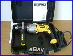 DeWALT D21570K 2-Speed Dry Diamond Percussion Core Drill 110v