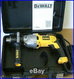DeWALT D21570K 2-Speed Dry Diamond Percussion Core Drill 240v