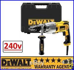 DeWALT D21570K D21570 1300W 240V 2 Speed 127MM Dry Diamond Core Drill RW