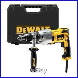 DeWalt D21570K 240v 127mm Dry Diamond Core/Rotary Hammer Percussion Drill + Case