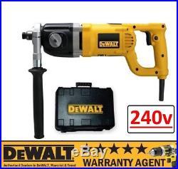 DeWalt D21580K D21580 240V 2 Speed Diamond Core Drill 152MM NEW