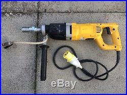 DeWalt D21582K 110V 2 speed diamond core drill Wet Or Dry