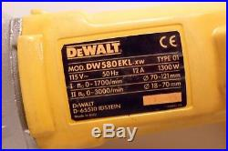 DeWalt DW580-EKl Two Speed Diamond Core Drill (110v)