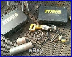 Dewalt diamond DW580ek Two Speed Diamond Core Drill 220v with accessories