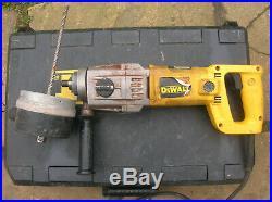 Dewalt dw580ek diamond core drill 240v