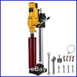 Diamond Concrete Core Drill Machine Vertical Stand Press Drilling Electric