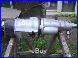 Diamond Core Drill & Heavy Duty Nimbus Rig 2 Speed 1 & 1/4 UNC B&D USA 110V