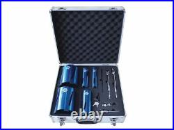 Diamond Core Drill Kit & Case Set of 11 FAIDCKIT11