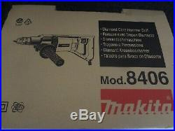 Diamond Core Hammer Drill Makita 8406 0.5/13mm110v. BNIB. Same day despatch