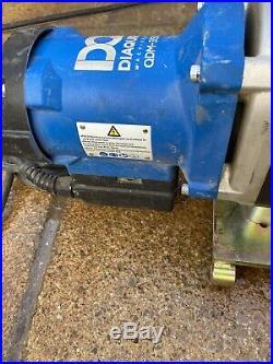 Diaquip QDM-350 Drill Motor 110 Volt, 3 Speed VGC Diamond Core Drill