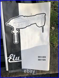 ELU DB10EK 110 Volt Diamond Core Drill With Transformer