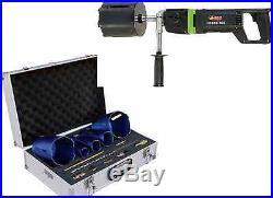 Eibenstock Diamond Core Drill EHD2000 6 & Duro 5pc Core Cutter Kit
