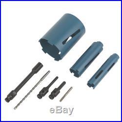 Erbauer Diamond Core Drill Kit 8 Pcs