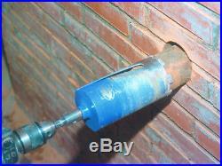 FAITHFULL 11 Piece 38mm 127mm Diamond Core Drill Set + Adaptors, FAIDCKIT11