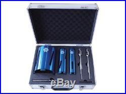Faithfull DCKIT7 Diamond Core Drill Kit & Case Set of 7