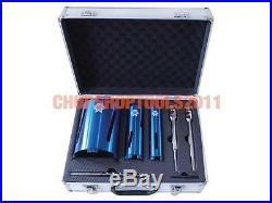 Faithfull FAIDCKIT7 Diamond Core Drill Kit & Case Set of 7