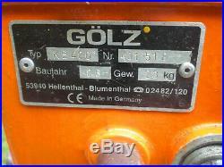 Golz BBM33 LL Extra Core Diamond Drill Rig Stand dd200 weka dd350 hilti dd160