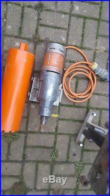 Golz Hakken heavy duty diamond core drill rig and motor