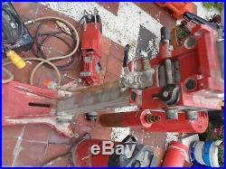 HILTI DCM 2 Diamond Core Drill Drilling Rig Stand DCM2 CW WATER PUMP