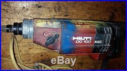 HILTI DD100 Diamond Core Drill. Bore Drill Concrete Hole Saw DD 130 150 110 80